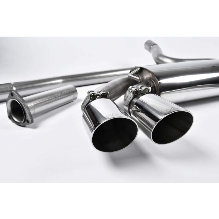 Milltek Sport MCXAU104 Downpipe-back non-resonated Twin 90mm GT90