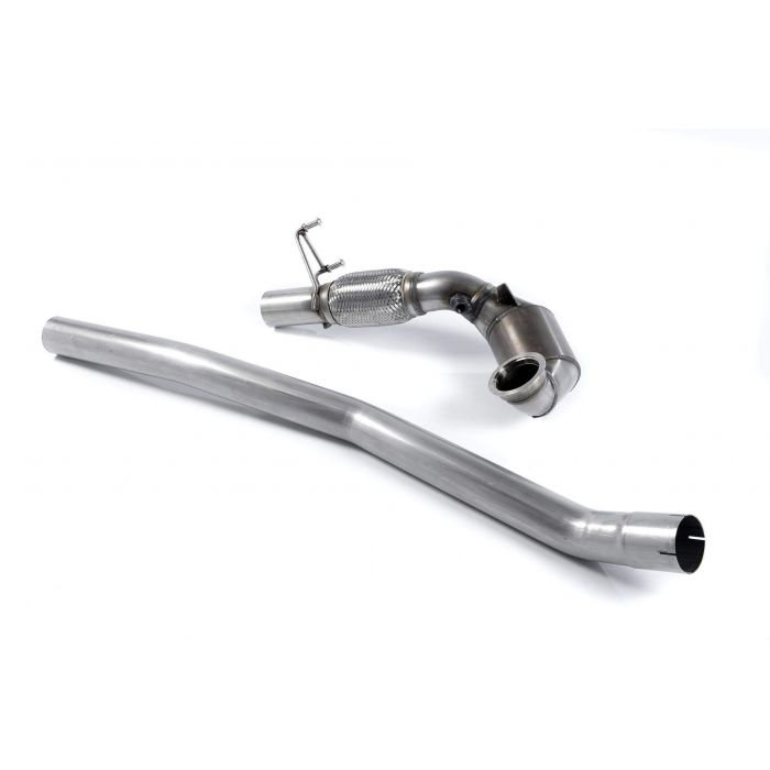 Milltek Sport SSXSK017 Large Bore Downpipe and Hi-Flow Sports Cat