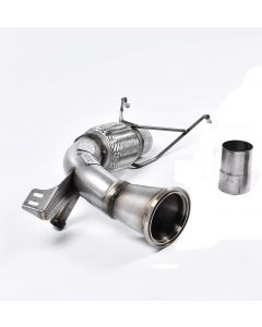 Miltek miltek sport SSXM408 large-bore downpipe and de-cat